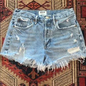 AGOLDE Parker Denim Shorts 26